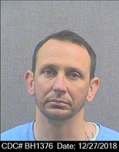 Jon Nicholas is shown in a photo released by the CDCR on April 2, 2019.