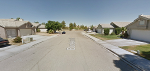 Buckskin Court in Victorville is seen in a Google Maps Street View image on April 24, 2019.