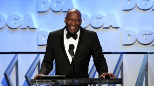 Director John Singleton speaks onstage during the 70th Annual Directors Guild Of America Awards at The Beverly Hilton Hotel on February 3, 2018 in Beverly Hills. (Credit: Kevork Djansezian/Getty Images)