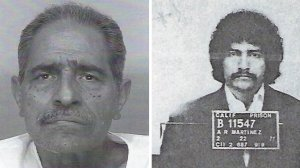 Arthur Rudy Martinez is seen in two undated photos provided by the San Luis Obispo County Sheriff's Office on April 17, 2019.