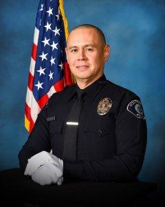 Montebello police released this photo of Officer Kenneth Utsinger.