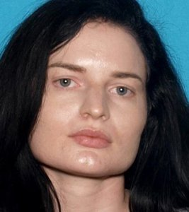 Gabrielle Wallace is seen in an image provided by the San Bernardino County Sheriff's Department.