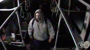 Police are seeking the man pictured in this surveillance camera image in connection with athe brutal and unprovoked beating after following the victim of a bus on March 12, 2019. (Credit: Montebello Police Department)