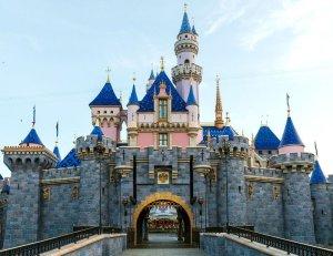 The Sleeping Beauty Castle at Disneyland park is seen in an undated photo. (Credit: Rob Sparacio / Disneyland Resort via Los Angeles Times)