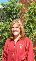 Laura Janke poses for a photo posted on USCTrojans.com on Feb. 13, 2007.