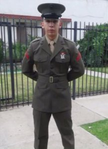Lance Cpl. Carlos Segovia Lopez is seen in an undated photo provided by his family.