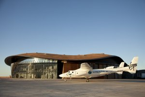 Richard Branson's space tourism startup, Virgin Galactic, is moving to New Mexico ahead of its first commercial flight. (Credit: CNN)