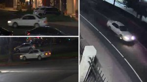 Corona Police released these images of the suspect vehicle from various surveillance cameras in the area.