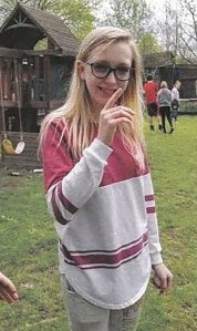 Riley Crossman is seen in a photo released by the Morgan County Sheriff's Department.