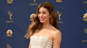 Actress Jessica Biel arrives to the 70th Annual Primetime Emmy Awards held at the Microsoft Theater on September 17, 2018. (Credit: Kevork Djansezian/NBC/NBCU Photo Bank via Getty Images)