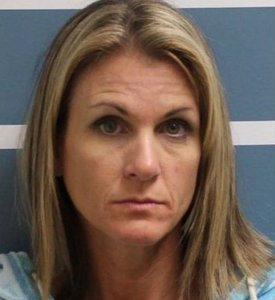 Coral Lytle is seen in a booking photo released by the Tulare County Sheriff's Office.