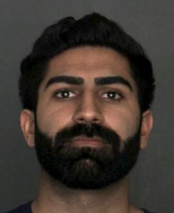 Imroj Singh, 23, of Fontana, as pictured in a photo released by the San Bernardino County Sheriff's Department following his arrest on June 19, 2019.
