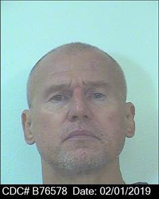 Daniel Troxell is seen in an undated photo released by the California Department of Corrections and Rehabilitation.