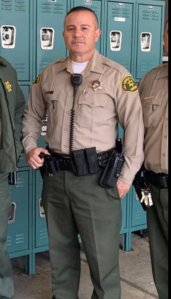 L.A. County sheriff's Deputy Joseph Gilbert Solano is shown in a photo provided by the department.