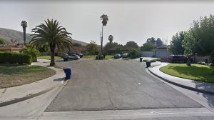 The 1400 block of Lomita Court in San Bernardino, as pictured in a Google Street View image in August of 2015.