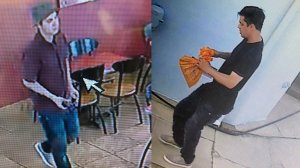 The suspected gunman is seen in surveillance images provided by the Los Angeles County Sheriff's Department on June 10, 2019.