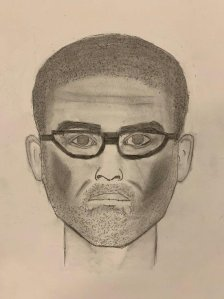 A sketch released by the Santa Ana Police Department shows a man suspected of sexually assaulting a teenage girl on June 10, 2019.