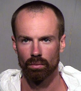 Michael Adams is seen in a photo released by the Maricopa County Sheriff's Office.