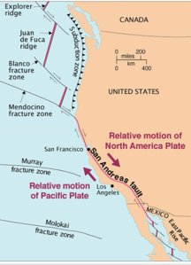 Earthquakes generally don't immediately relieve seismic stress or forestall a future big quake. In fact, earthquakes typically increase the risk of future seismic activity. (Credit: U.S. Geological Survey)
