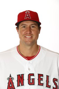 Tyler Skaggs #45 poses for a portrait during the Los Angeles Angels' photo day on Feb. 19, 2019, in Tempe, Ariz. (Credit: Jamie Squire/Getty Images)