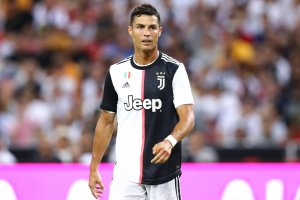 Cristiano Ronaldo plays during the International Champions Cup match between Juventus and Tottenham Hotspur at the Singapore National Stadium on July 21, 2019 in Singapore. (Credit: Pakawich Damrongkiattisak/Getty Images)