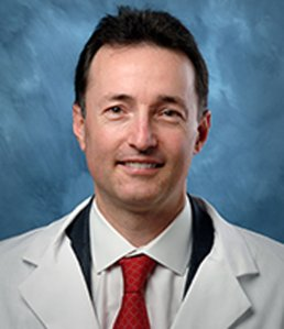 Guido Germano is seen in a photo on Cedars-Sinai hospital's website.
