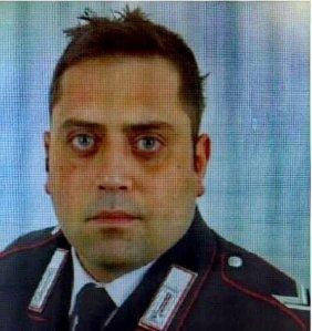 Mario Cerciello Rega appears in a photo released by the Polizia di Stato in Italy on July 26, 2019.