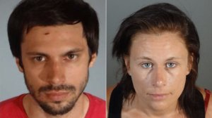 Robert Camou, left, and Amanda Custer are seen in undated photos released July 29, 2019, by the Los Angeles County Sheriff's Department.