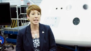 Nujoud Merancy is the Exploration Mission Planning and Analysis lead for the Orion program, something she calls a once-in-a-lifetime opportunity. (CNN Photo)