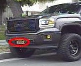 Glendale police released this photo of a truck used by a man wanted on suspicion of beating his fiancee and her mother on July 19, 2019.