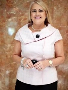 Justice Secretary Wanda Vázquez poses for a photo that appears on Puerto Rico's Justice Department website in July 2019.