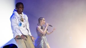 A$AP Rocky and FKA twigs perform in concert at Park Avenue Armory on May 12, 2019 in New York City. (Credit: Noam Galai/Getty Images)