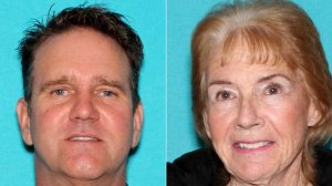 Rogery Hillygus, 52, of Reno, Nevada, left, and his mother Susan Hillygus, 80, of Reno, Nevada, pictured in photos released by the Reno Police Department on Aug. 9, 2019.