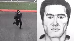 Fullerton police on Aug. 20, 2019 released surveillance video and a sketch of the suspect in a deadly stabbing at California State University Fullerton.
