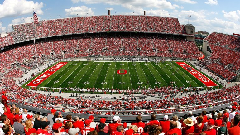 A general view of Ohio Stadium during the game between the Ohio State Buckeyes and the Ohio Bobcats on September 6, 2008 in Columbus, Ohio. (Credit: Kevin C. Cox/Getty Images)