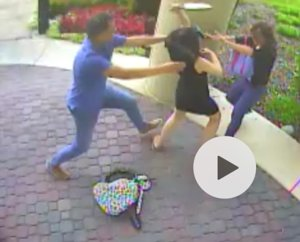 Roseville police released this surveillance image of the attack.