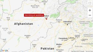 A blast ripped through a wedding ceremony in Kabul, killing six people Saturday, according to Afghanistan's Interior Ministry spokesman Nasrat Rahimi. (Credit: CNN)