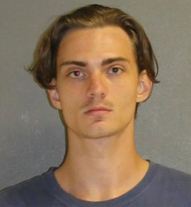 Tristan Scott Wix, 25, is seen in a photo released by authorities in Daytona Beach. (Credit: CNN)