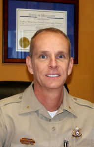 Lee County Sheriff Jim Johnson is seen in a photo on the website for the Lee County Sheriff's Department, located in Tupelo, Miss.