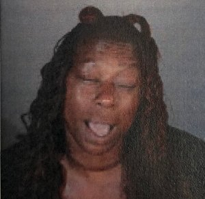 Tameca Walker is seen in a booking photo released by LAFD.