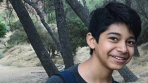 The victim, identified only as 13-year-old Diego, is seen in a family photo.