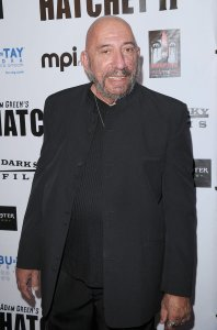 """Sid Haig arrives at the """"Hatchet II"""" Los Angeles premiere held at the Egyptian Theatre on September 28, 2010 in Hollywood. (Credit: Jason Merritt/Getty Images)"""
