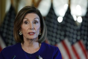 House Speaker Nancy Pelosi announces a formal impeachment inquiry against President Donald Trump on Sept. 24, 2019. (Credit: Alex Wong/Getty Images)