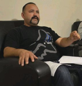 Victor Gonzalez is pictured in May 2018. (Credit: Julio Moralez / Imperial Valley Press)