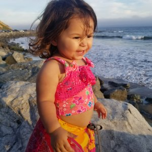 June Love Agosto, 2, of Rancho Palos Verdes, pictured in an undated photo provided by family.