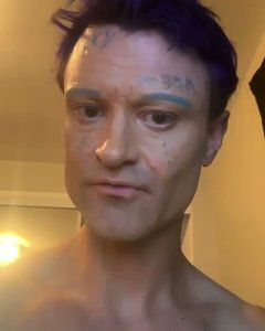 Sexy Vegan, 37, of West Hollywood is seen in a still from a video posted to his Instagram on Aug. 27, 2019.