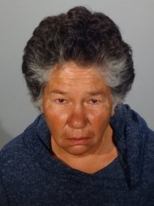 Jackie Rita Williams is shown in a booking photo released by the Glendale Police Department on Sept. 27, 2019.