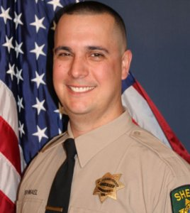Deputy Brian Ishmael is seen in an image posted to the El Dorado Sheriff's Instagram page.