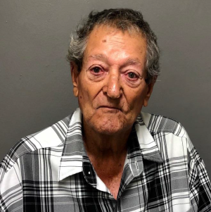 Salvador Curiel is seen in a booking photo released Oct. 8, 2019, by the Hemet Police Department.