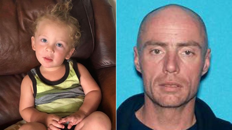 Jace Pletcher, left, and Eric Truman, right, are seen in photos released by the Kern County Sheriff's Office.